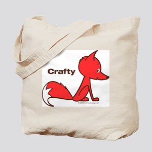 Crafty Fox Tote Bag