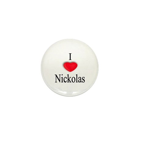 Nickolas Mini Button (10 pack)