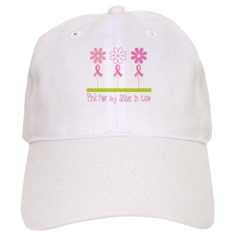 Pink Ribbon For My Sister-in-Law Cap