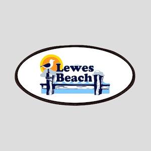 Lewes Beach DE - Pier Design. Patches