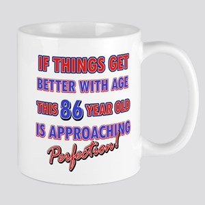 Funny 86th Birthdy designs Mug