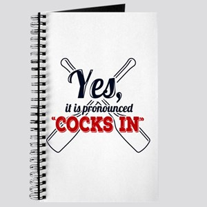 "Yes, It Is Pronounced ""Cocks In"" Journal"