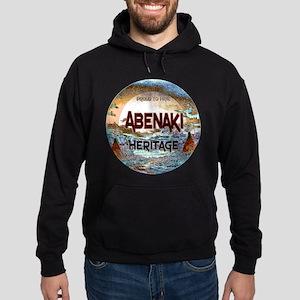 Abenaki Heritage Hoodie (dark)
