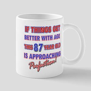 Funny 87th Birthdy designs Mug