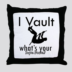 I Vault what's your superpower? Throw Pillow