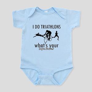 I Triathlons what's your superpower? Infant Bodysu