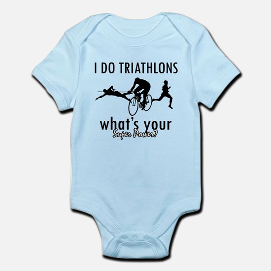 I Triathlons what's your superpower? Infant Bodysu