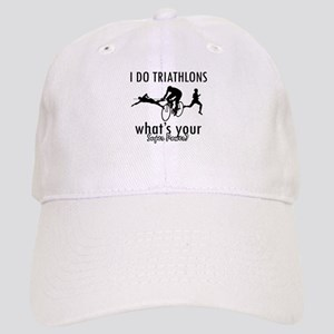 I Triathlons what's your superpower? Cap