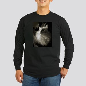 Persian Portrait Long Sleeve Dark T-Shirt