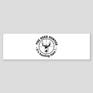 The Beer Hunter Sticker (Bumper)