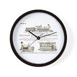 H K Porter & Company, 1890 Wall Clock