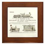 H K Porter & Company, 1890 Framed Tile
