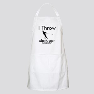 I Throw what's your superpower? Apron
