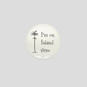 Island Time Mini Button
