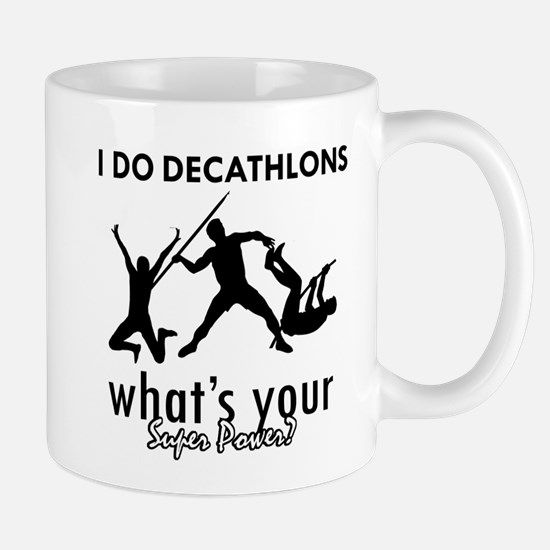 I Decathlons what's your superpower? Mug