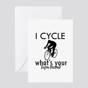I Cycle Greeting Card