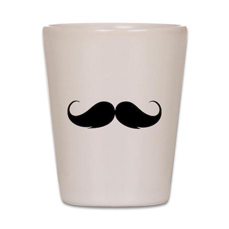 Moustache Shot Glass