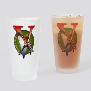 Hell's Belle Drinking Glass