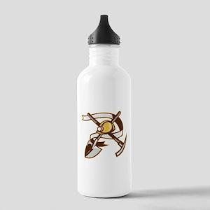 coal miner hardhat Stainless Water Bottle 1.0L