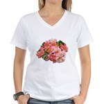 Cuttings Women's V-Neck T-Shirt