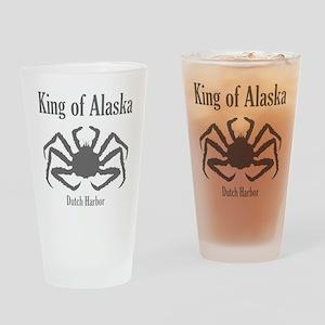 King of Alaska- Drinking Glass
