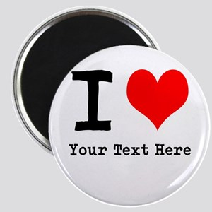 I Heart (personalized) Magnet