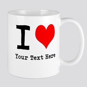 I Heart (personalized) Mug