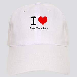 I Heart (personalized) Cap