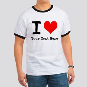 I Heart (personalized) Ringer T