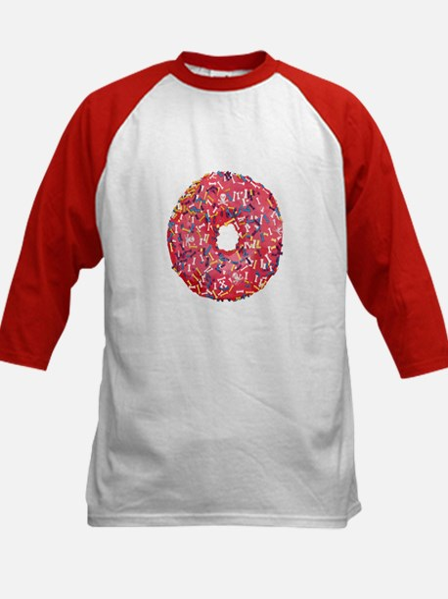 Skull &Bone Sprinkle Donut Kids Baseball Jersey
