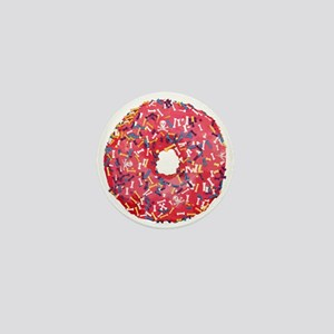 Skull &Bone Sprinkle Donut Mini Button