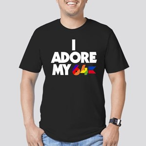 I Adore My 64 (dark items) Men's Fitted T-Shirt (d