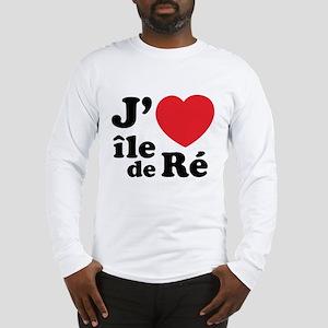 J'adore Ile de Ré Long Sleeve T-Shirt