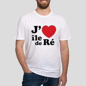J'adore Ile de Ré Fitted T-Shirt