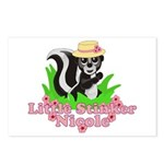 Little Stinker Nicole Postcards (Package of 8)