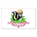 Little Stinker Nicole Sticker (Rectangle 10 pk)