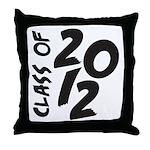 Class OF 2012 Throw Pillow