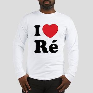 I Love Ile de Ré Long Sleeve T-Shirt