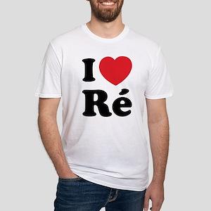 I Love Ile de Ré Fitted T-Shirt
