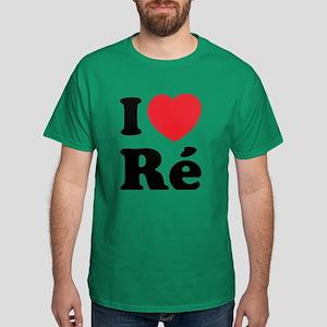 I Love Ile de Ré Dark T-Shirt