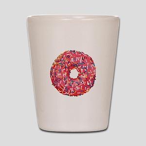 Skull &Bone Sprinkle Donut Shot Glass