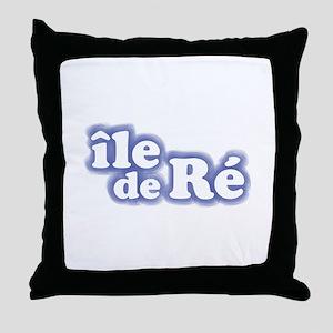 Ile de Ré Throw Pillow