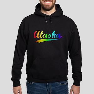 Alaska Rainbow Vintage Hoodie (dark)