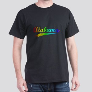 Alabama Rainbow Vintage Dark T-Shirt