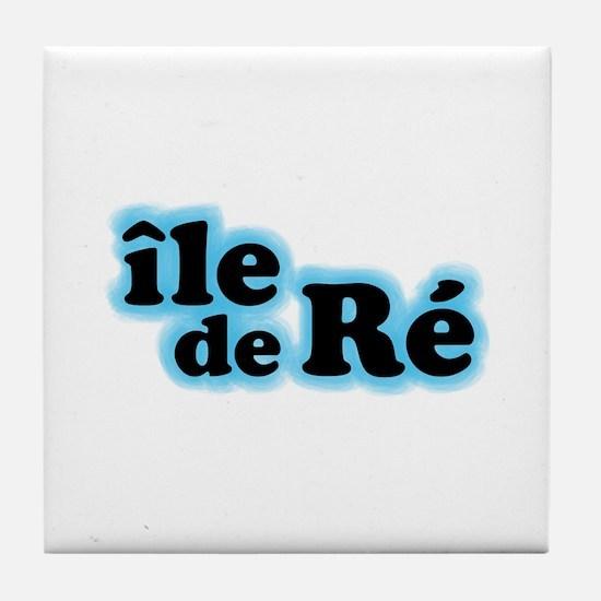 Ile de Ré Tile Coaster