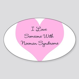 I Love Someone with Noonan Sy Sticker (Oval)