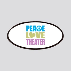Peace Love Theater Patches