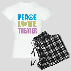 Peace Love Theater Women's Light Pajamas