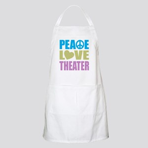 Peace Love Theater Apron