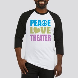 Peace Love Theater Baseball Jersey